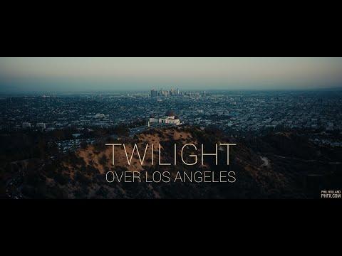 Twilight Over Los Angeles  8K