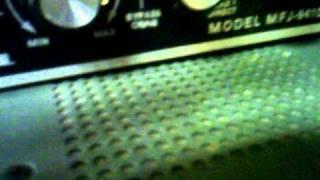 Strange signals on ham radio