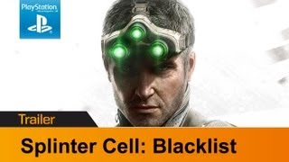 Splinter Cell: Blacklist trailer - Ghost, assault & panther gameplay