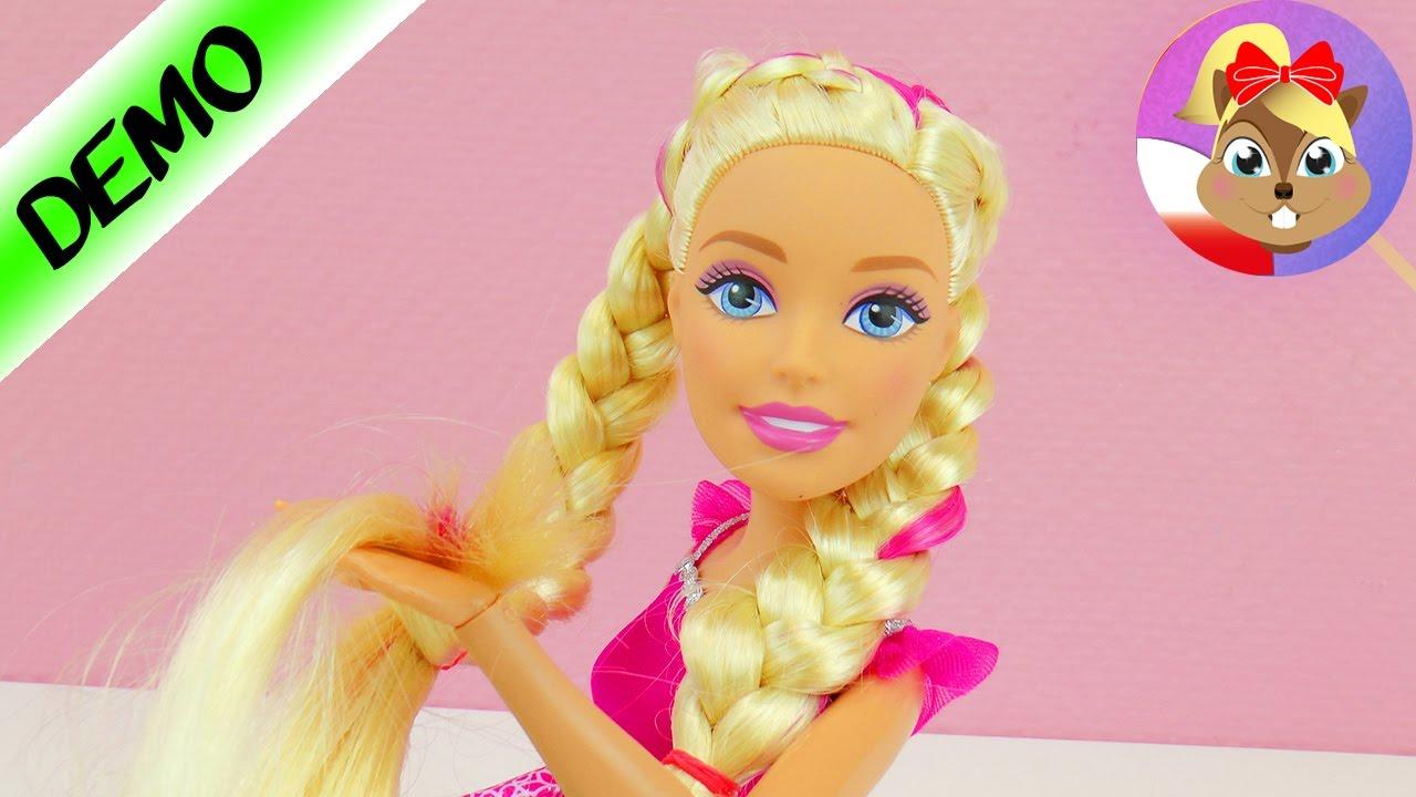 Fryzura Dla Wielkiej Lalki Barbie Fantazyjny Dobieraniec