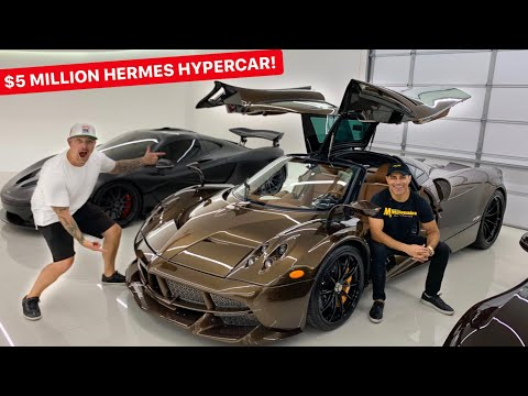 "MEET MANNY KHOSHBIN & HIS $7 MILLION ""HERMES"" PAGANI HUAYRA!"