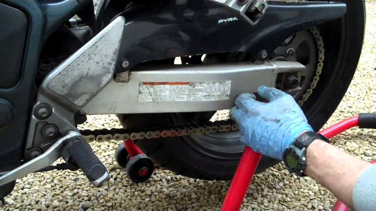 Chain Tension On  Suzuki Bandit S