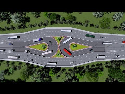 U-Loop Design for Dhaka City Traffic - YouTube