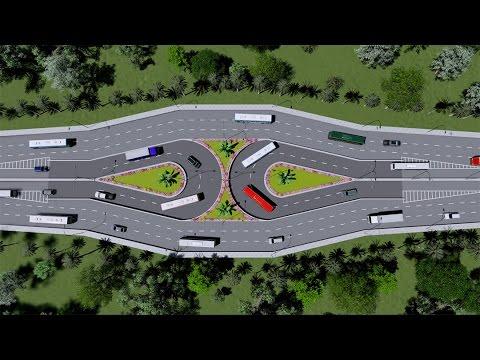 U loop design for dhaka city traffic youtube - Traffic planning and design layoffs ...