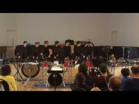 Percussion Ensemble 2016