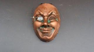 Steampunk Copper Venetian Mask
