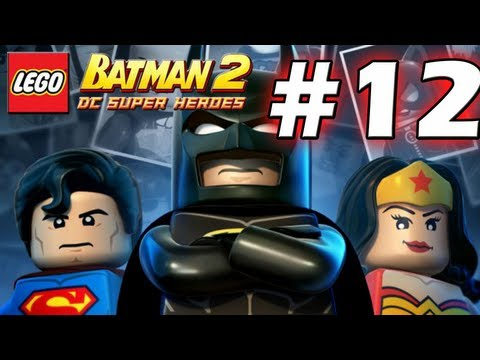 LEGO Batman 2 : DC Super Heroes Episode 12 - Research and Development  (HD) (Gameplay)