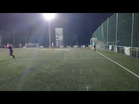 Último penalti y celebración del Atlético Cuntis