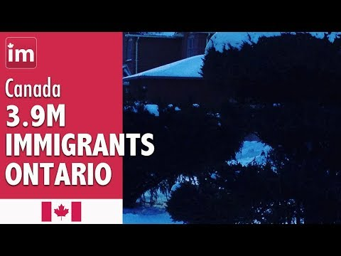 Immigrants in Ontario by place of birth | Immigration to Ontario (2018)