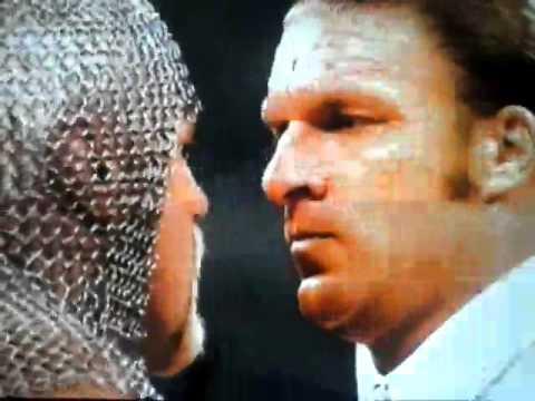 WWE Royal Rumble 2003 Triple H vs Scott Stenter Promo En Español
