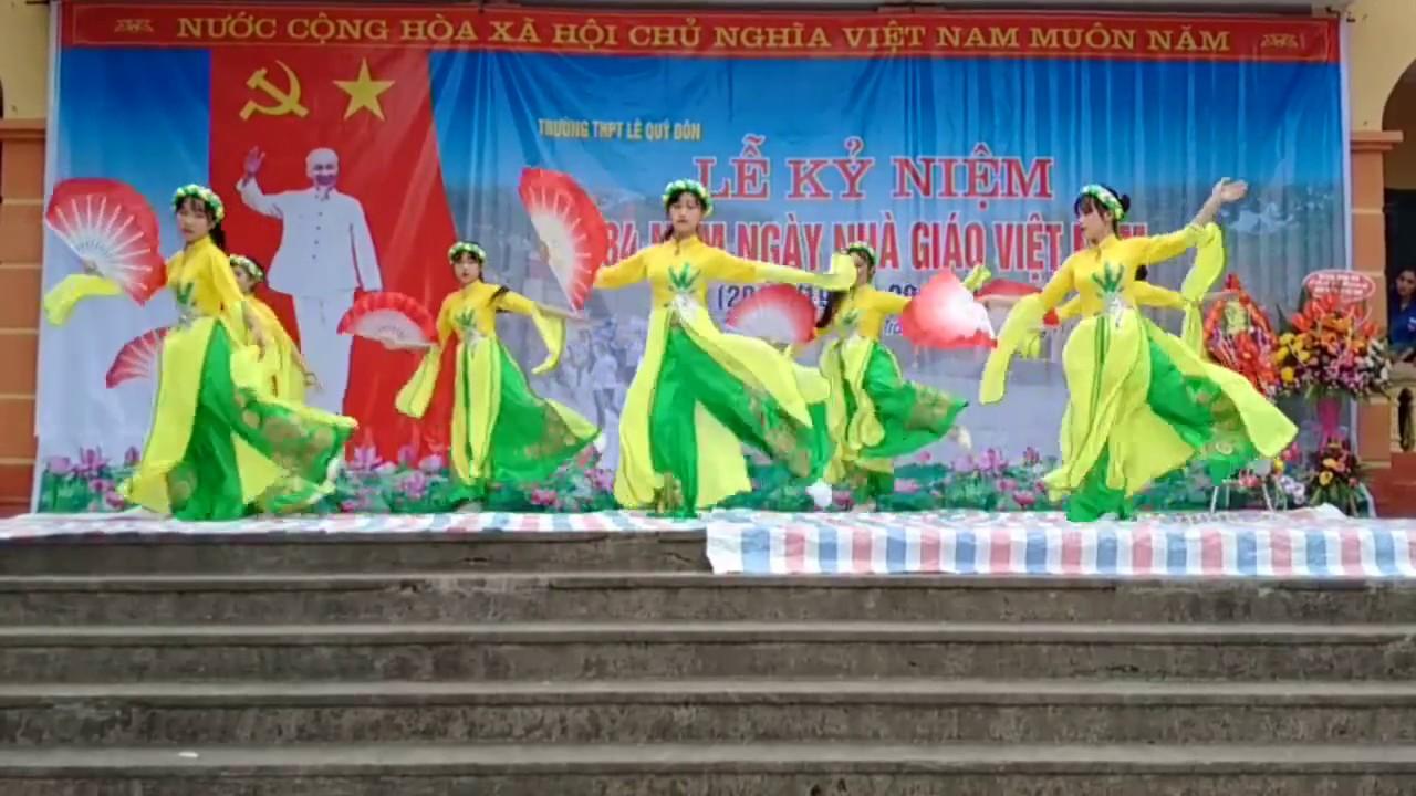 múa đất nước lời ru- nguyễn thiện nhân( lớp 12a1 trường THPT Lê Quý Đôn Trấn Yên Yên Bái
