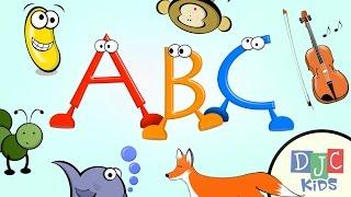 ABC Learning Video for Children, Kindergarten, and Preschool!