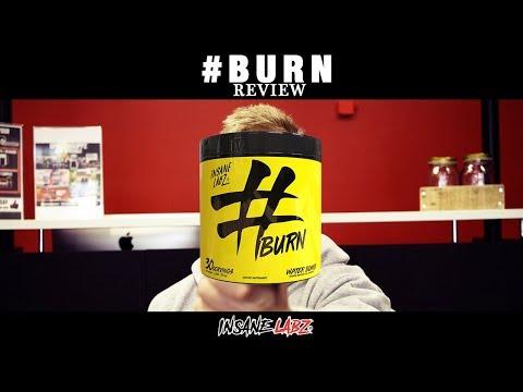 Insane Labz #burn Fat Burning Supplement Review