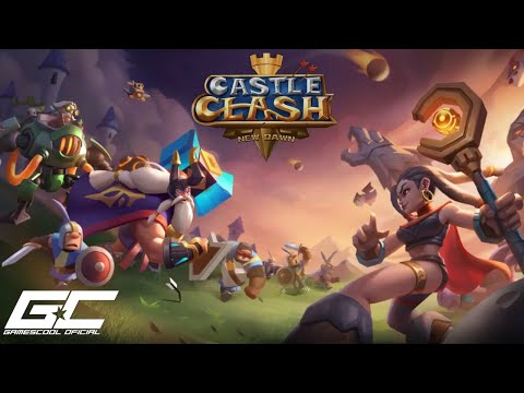 CASTLE CLASH NEW DAWN → PRIMEIRAS IMPRESSOES