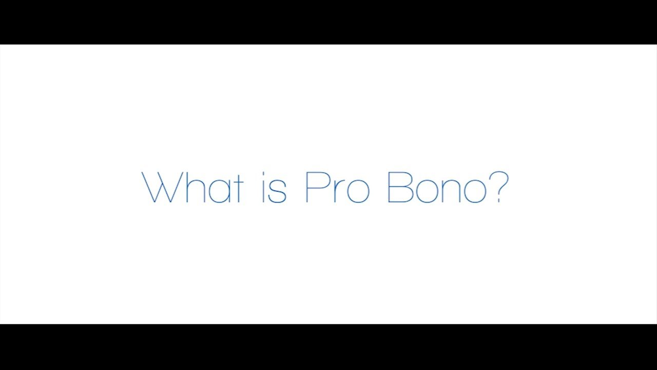Pro Bono Service - Code Critical, Current Issues, Legal