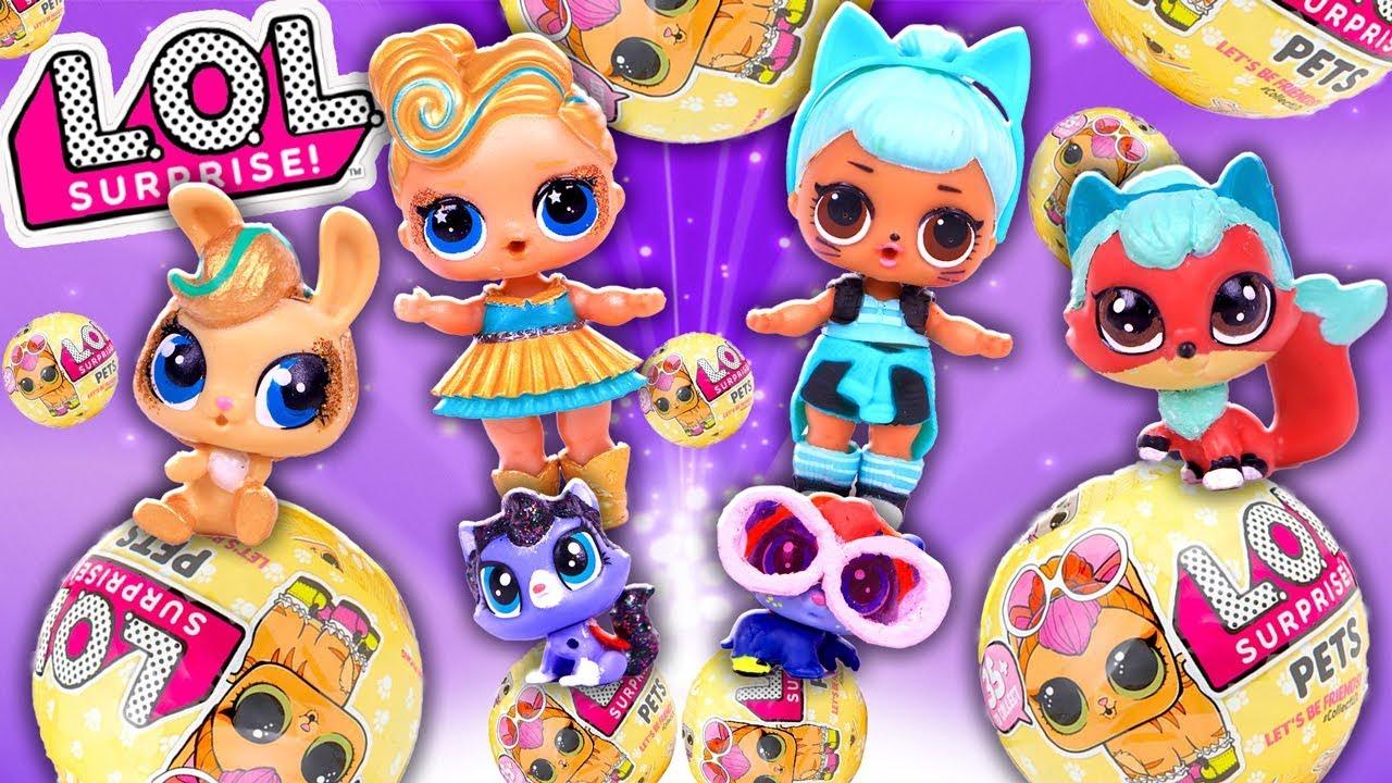 Lol Surprise Pets Toys L O L Surprise Series 3 Custom My