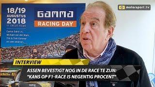 """Assen bevestigt nog in beeld te zijn: """"Kans op F1-race is negentig procent"""""""
