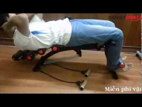 Máy tập cơ bụng Free will 2013, máy tập giảm mỡ bụng sau 2 tuần
