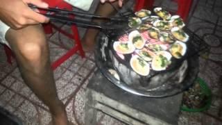 Готовим ракушки, гребешки и мидии во Вьетнаме