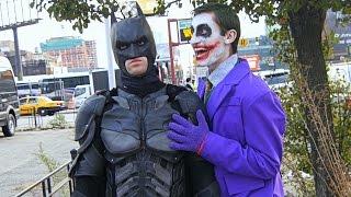 10 Hours of Walking in NYC as Batman