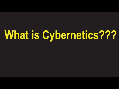What is cybernetics?