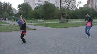 Уроки танцев/Элегантность/КМЦ Долгопрудный/13 августа 2018 года.7