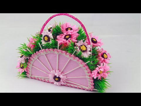 make-beautiful-flower-bouquet-|-best-out-of-waste-|-room-decoration-craft-idea