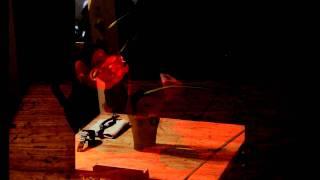 """Utsurawa-ba"" Naoki Maeda (ceramic art) Part II-1, w/So-sen Imai (ikebana) & Koyu (bass)"