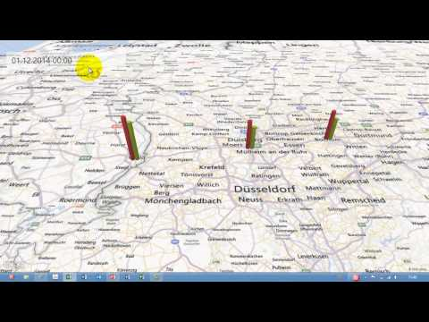 Excel # 376 - GeoFlow - Teil 1 - Daten In Karten Visualisieren - Add-In Für Excel 2013