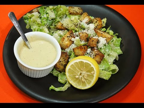 Homemade Ceasar Salad Dressing