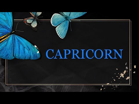 CAPRICORN, YOU HAVE A GREAT WEEK COMING UP(25-31 JANUARY