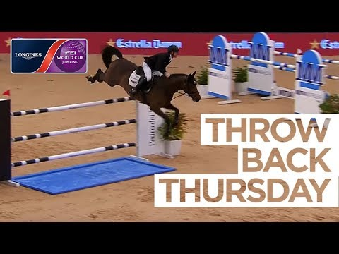 Marcus Ehning stuns the Spanish crowd #ThrowbackThursday | Longines FEI World Cup™ Jumping