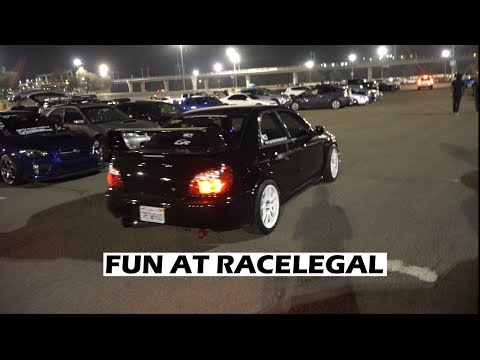 Danny's 650 Whp STI Drag Races - Race Legal