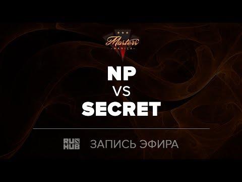 Team NP vs Secret, Manila Masters, game 3 [Maelstorm, LightOfHeaven]