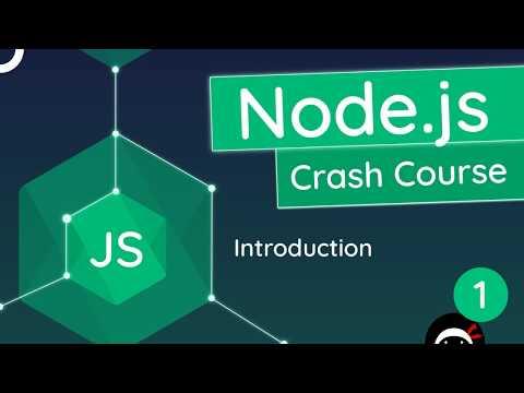 Node.js Crash Course Tutorial #1 - Introduction & Setup