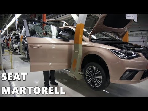 SEAT Martorell Factory - 25 Years of Production