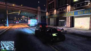 GTA V PS4 Getaway Driver Day 1 Movie (Solo Impala by The Fashion)
