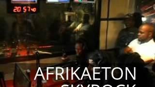 X Maleya  En Live Sur Skyrock Dans Planète Rap