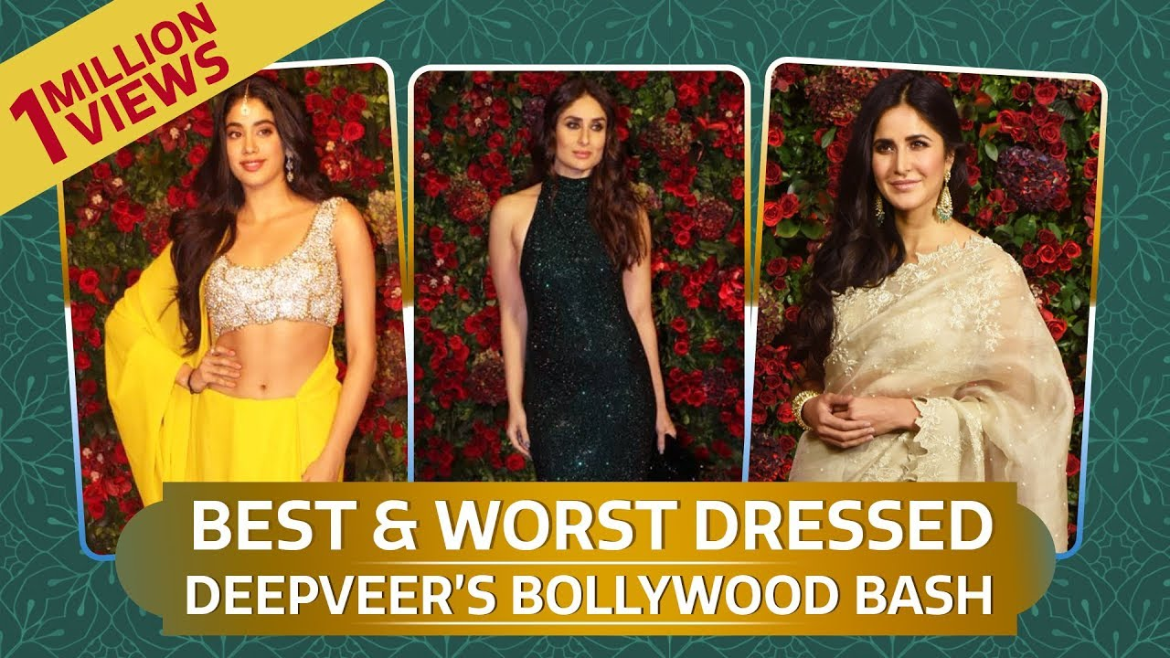 Kareena Kapoor, Anushka Sharma: Best and Worst Dressed at DeepVeer's Wedding Reception