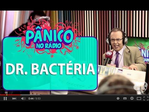 """Dr. Bactéria: """"hoje em dia há germes que não existiam antigamente"""""""