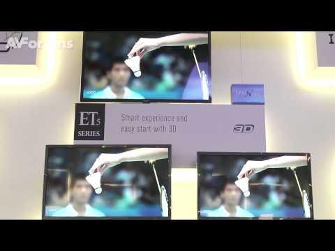 Panasonic GT50, VT50 Plasmas plus DT50, WT50 LED TVs launched at convention in Hamburg