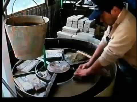 Точильные водные камни Suehiro - техника заточки - YouTube