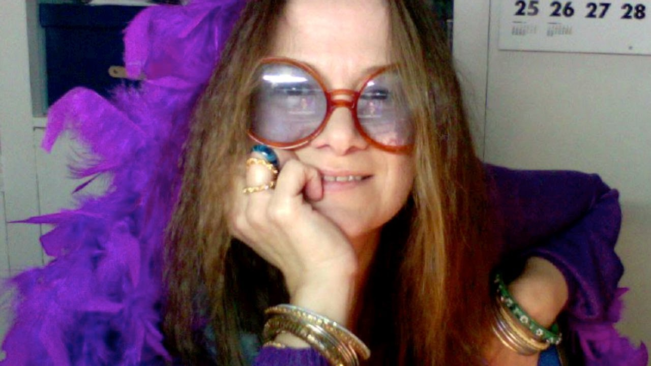 cd7bfacb5dd How I transform into Janis Joplin (Hippie style) - YouTube