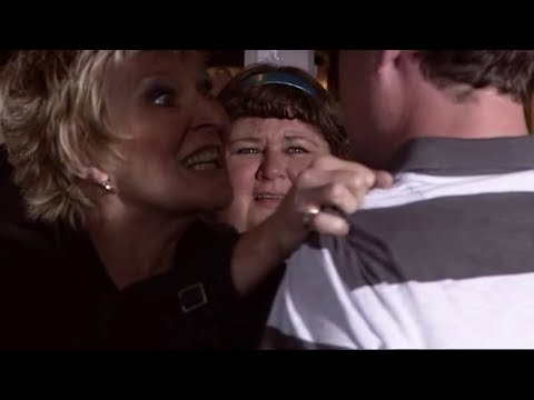 EastEnders - Shirley Carter Beats Up Clive (23rd August 2007)