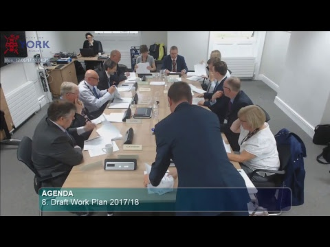 Customer & Corporate Services Scrutiny Management Committee, 12 June 2017