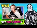FaZe TFUE TALKS ABOUT SKULL TROOPER SKIN AND HIS TOP 5 SKINS | Fortnite Daily Funny Moments Ep.115