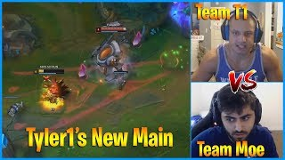 Tyler1 Found New Main   Team Tyler1 vs Team Yassuo Scrims   LoL Daily Moments Ep 720