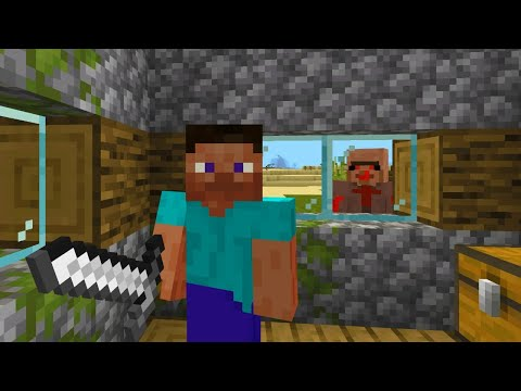 One final look for the Creepy villager in Minecraft.. (Live)