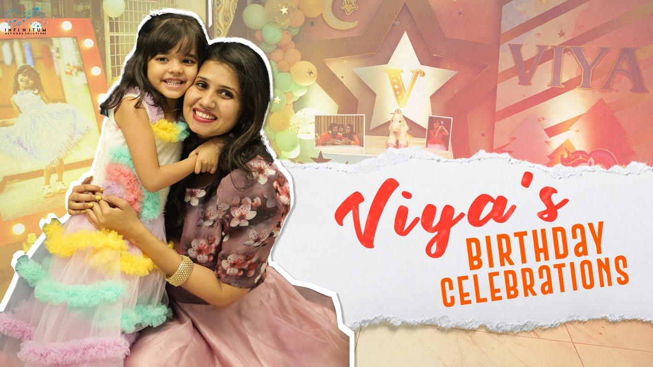 Viya's Birthday Celebrations || Princess Viya || Infinitum Media