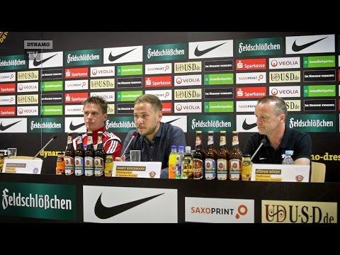 6. Spieltag   SGD - Kiel   Pressekonferenz nach dem Spiel